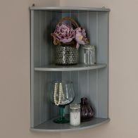 See more information about the Colonial Corner Wall Shelf Unit - Grey
