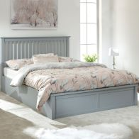 See more information about the Como 4ft 6in Double Ottoman Bed Grey