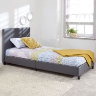 See more information about the Bugi 3ft Single Bed In A Box Grey