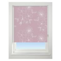 See more information about the Universal 60cm Pink Floral Cluster Blackout Roller Blind