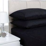 See more information about the Fusion 2 Pack Pillow Case Black