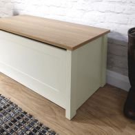 See more information about the Lancaster Cream Ottoman Storage Box