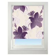 See more information about the Universal 60cm Purple lily Blackout Roller Blind