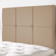 See more information about the Calder Weave Fabric Brown 5ft King Size Bed Headboard