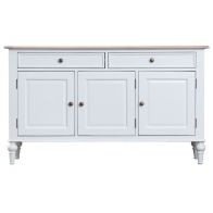 See more information about the Painted Oak 3 Door 2 Drawer Sideboard