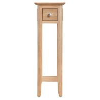 See more information about the Bayview Light Oak Home Plant Stand Table