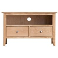 See more information about the Bayview Light Oak Standard 2 Drawer TV Cabinet