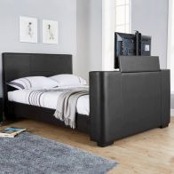 See more information about the Newark 5ft King Size TV Bed Black
