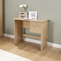 See more information about the Panama Oak Finish 2 Drawer Desk