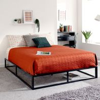 See more information about the Platform 4ft 6in Double Platform Bed Black