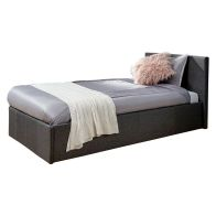 See more information about the Grey Fabric Side Lift Ottoman Single 3ft Bed Frame