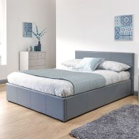 See more information about the Winston 4ft 6in Double Ottoman Bed Grey