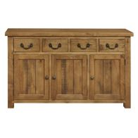 See more information about the Rustic 4 Drawer 3 Door